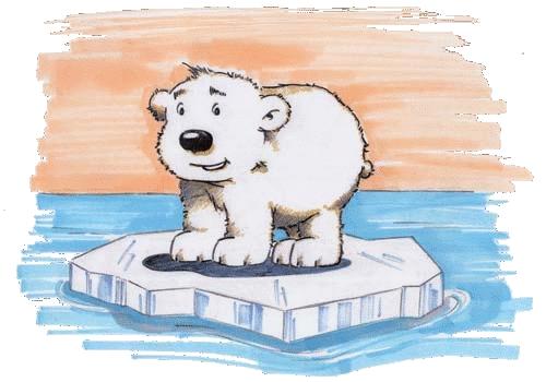 Plakatbild Der kleine Eisbär