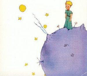 Plakatbild der kleine Prinz