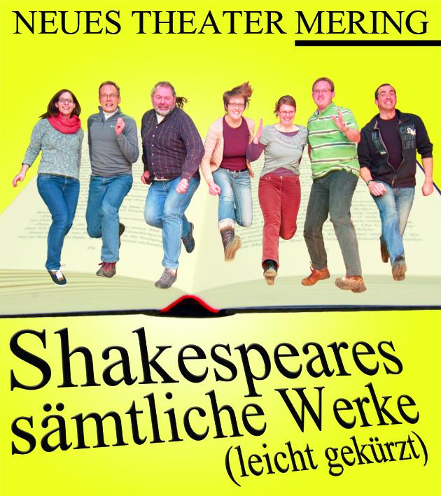Plakatbild Shakespeares sämtliche Werke (leicht gekürzt)