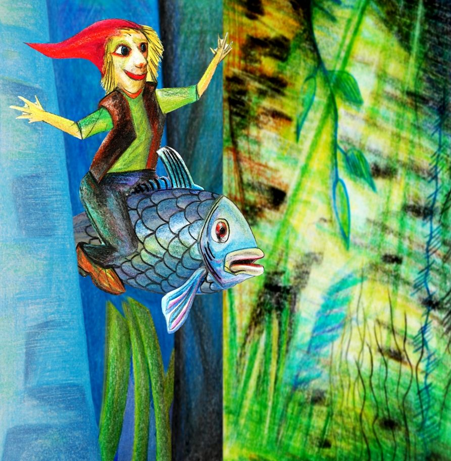 Plakatbild Der kleine Wassermann